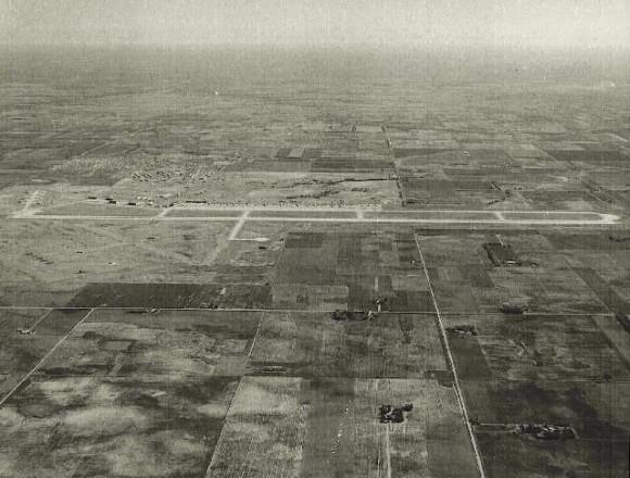 Loring Air Force Base. Clinton Sherman AFB - A View